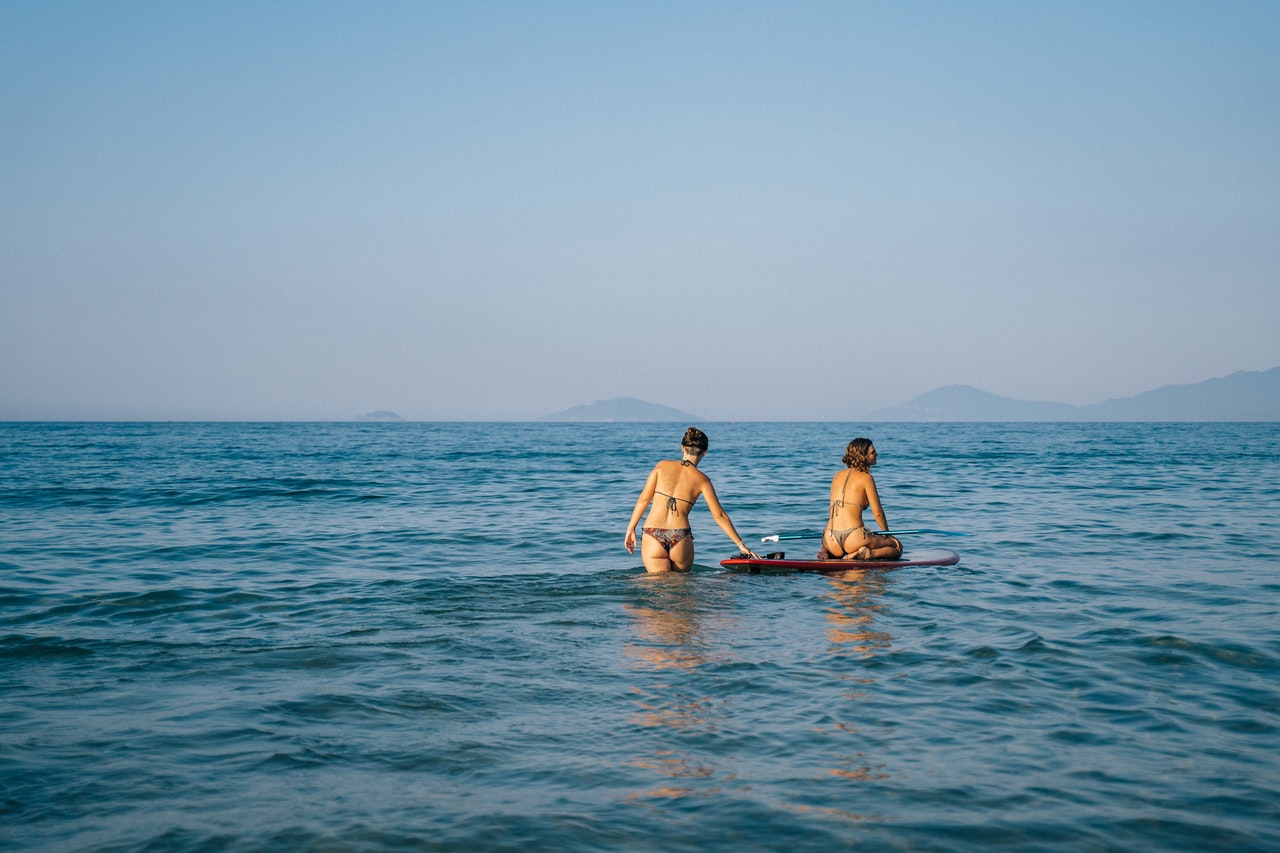 3 fun activities to do with a paddle board
